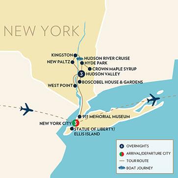 NY City The Hudson River Valley